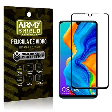 Película de Vidro 3D Cobre Tela Toda Huawei P30 Lite - Armyshield