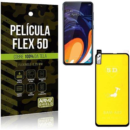 Película Flex 5D Cobre a Tela Toda Samsung A60 - Armyshield