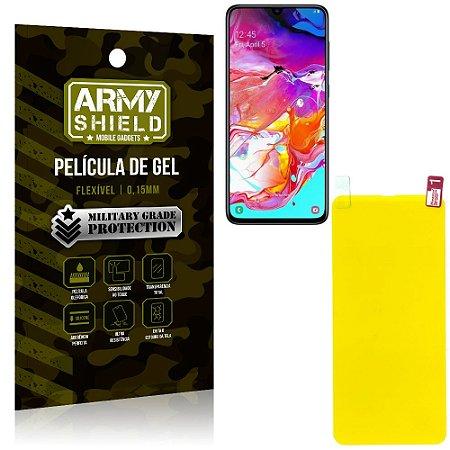 Película de Gel Flexível Samsung A70 - Armyshield