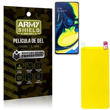 Película de Gel Flexível Samsung A80 - Armyshield