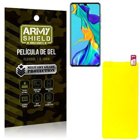 Película de Gel Flexível Huawei P30 - Armyshield