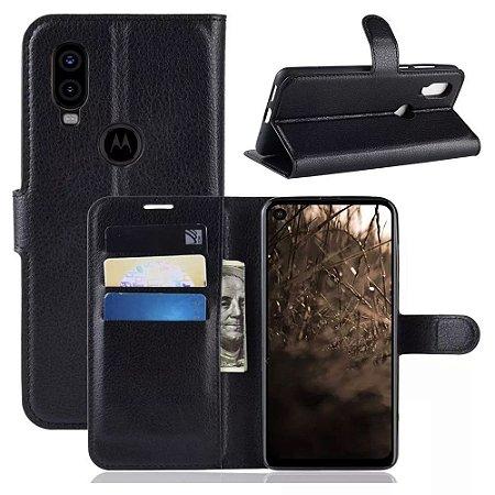 Capa Carteira Motorola One Vision - Armyshield