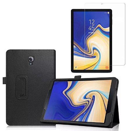 Capa Pasta + Película de Vidro Blindada Tablet Samsung Galaxy Tab S4 10.5 T830/T835 - Armyshield