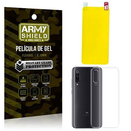 Kit Película de Gel Xiaomi Mi 9 SE Película de Gel + Capa Silicone - Armyshield