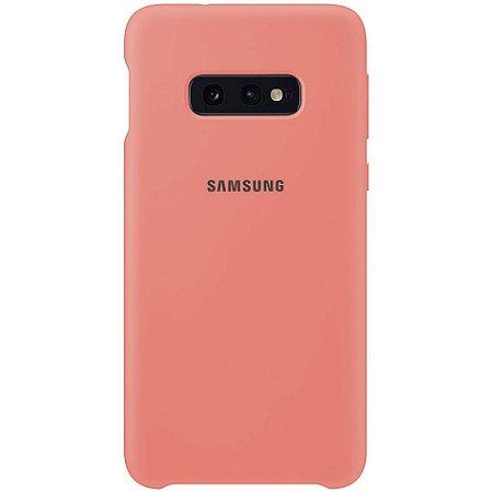Capa Case Silicone Samsung S10e Coral
