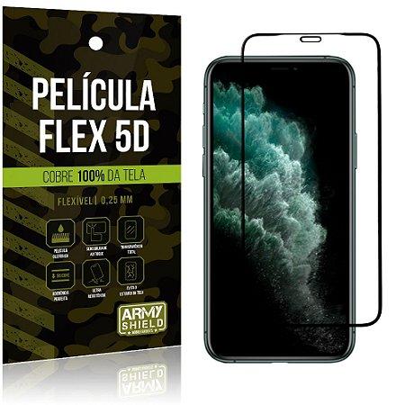 Película Flex 5D Apple iPhone 11 Pro Max 6.5 Cobre a Tela Toda - Armyshield