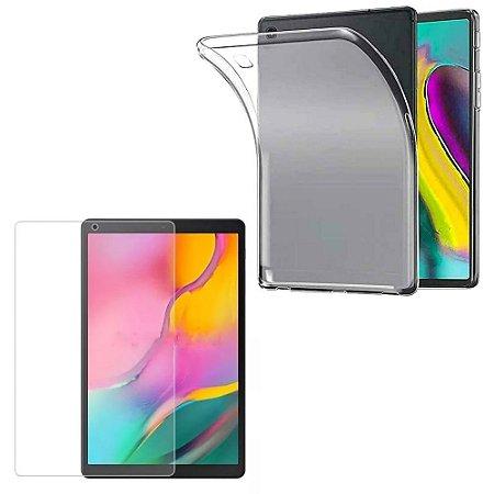 Capa Silicone + Película de Vidro Galaxy Tab A 10.1 T510/T515 - Armyshield