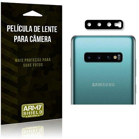 Película de Lente para Camera Galaxy S10 Plus - Armyshield