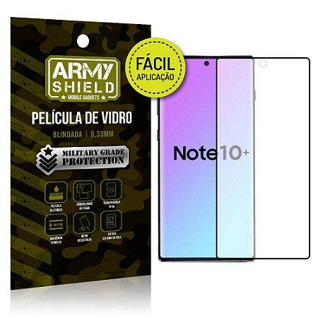 Película 3D Fácil Aplicação Galaxy Note 10 Plus Película 3D - Armyshield