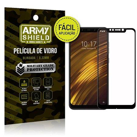 Película 3D Fácil Aplicação Xiaomi Pocophone F1 Película 3D - Armyshield