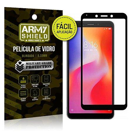 Película 3D Fácil Aplicação Xiaomi Redmi 6A Película 3D - Armyshield