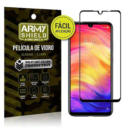 Película 3D Fácil Aplicação Xiaomi Redmi 7 Película 3D - Armyshield