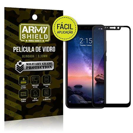 Película 3D Fácil Aplicação Xiaomi Redmi Note 6 Pro Película 3D - Armyshield