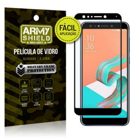 Película 3D Fácil Aplicação Zenfone 5 Selfie Pro ZC600KL - Armyshield