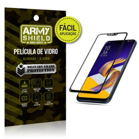 Película 3D Fácil Aplicação Zenfone 5 ZE620KL Película 3D - Armyshield