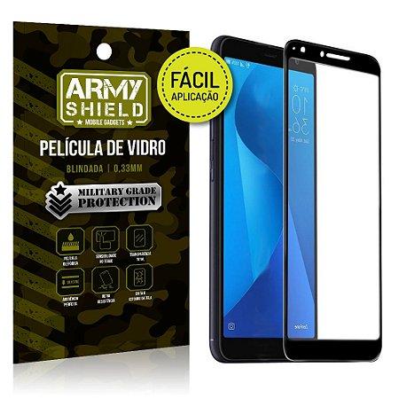 Película 3D Fácil Aplicação Zenfone Max Plus M1 ZB570TL - Armyshield