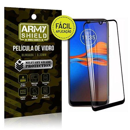 Película 3D Fácil Aplicação Motorola Moto E6 Plus Película 3D - Armyshield