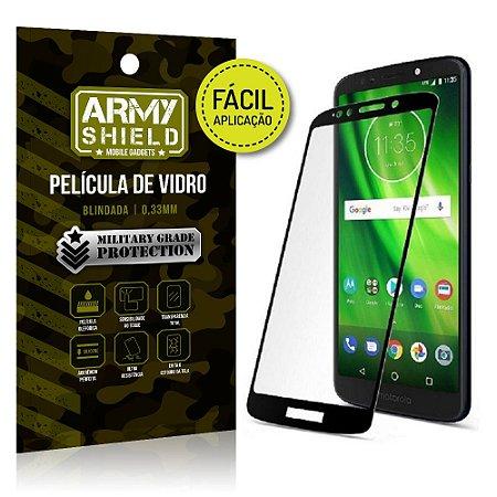 Película 3D Fácil Aplicação Motorola Moto G6 Play Película 3D - Armyshield