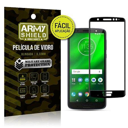 Película 3D Fácil Aplicação Motorola Moto G6 Plus Película 3D - Armyshield