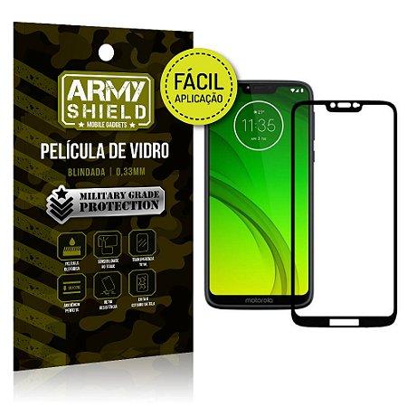 Película 3D Fácil Aplicação Motorola Moto G7 Power Película 3D - Armyshield