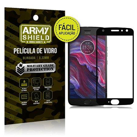 Película 3D Fácil Aplicação Motorola Moto X4 Película 3D - Armyshield