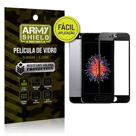 Película 3D Fácil Aplicação Apple iPhone 5 - 5S - SE - Armyshield