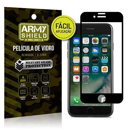 Película 3D Fácil Aplicação Apple iPhone 7 Plus Película 3D - Armyshield