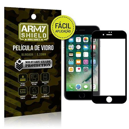 Película 3D Fácil Aplicação Apple iPhone 8 Plus Película 3D - Armyshield
