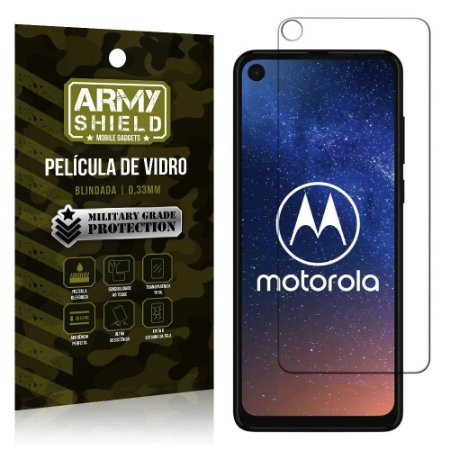 Película de Vidro Blindada Moto One Action - Armyshield