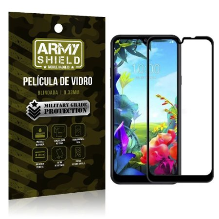 Película de Vidro 3D Cobre a Tela Toda Blindada LG K40s - Armyshield
