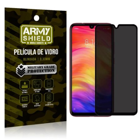 Película de Vidro 3D Privacidade Galaxy A10 - Armyshield