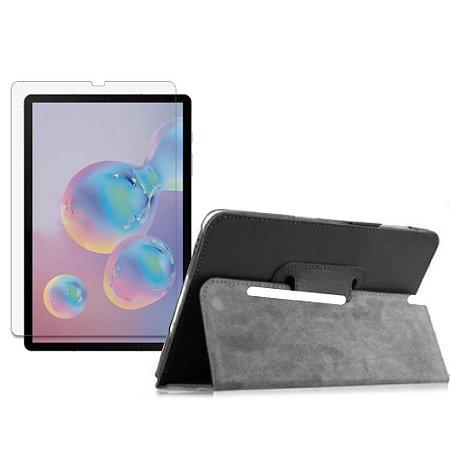 Capa Pasta + Película de Vidro Blindada Tablet Samsung Galaxy Tab S6 10.5' T865 - Armyshield