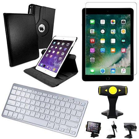 Capa Giratória iPad Air 2019 10.5 + Película + Teclado +Suporte Mesa +Caneta - Armyshield