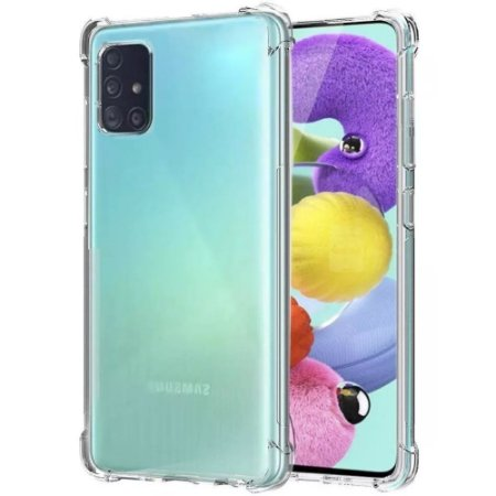 Capinha Silicone Anti Impacto Galaxy A51 - Armyshield
