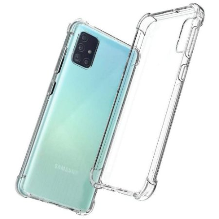 Capinha Silicone Anti Impacto Galaxy A71 - Armyshield