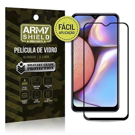 Película de Vidro 3D Fácil Aplicação Galaxy A10S - Armyshield