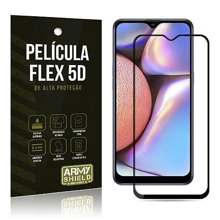 Película Flex 5D Cobre a Tela Toda Blindada Galaxy A10S - Armyshield