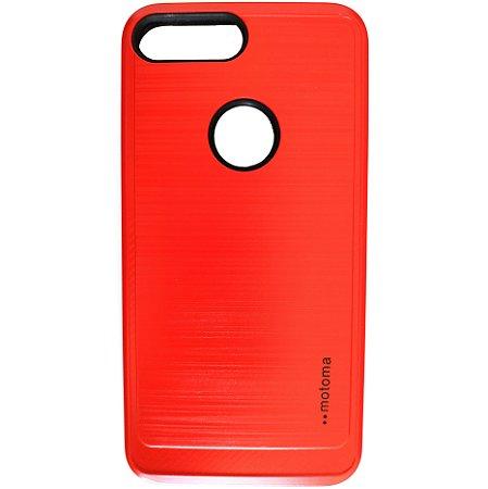 Capa Anti Impacto Motoma iPhone 7 Plus 8 Plus Vermelha