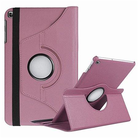 Capa Giratória Galaxy Tab A 10.1' T515/T510 Rosa Claro - Armyshield