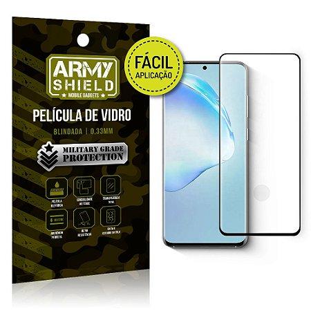 Película de Vidro 3D Fácil Aplicação Galaxy S20 Ultra - Armyshield