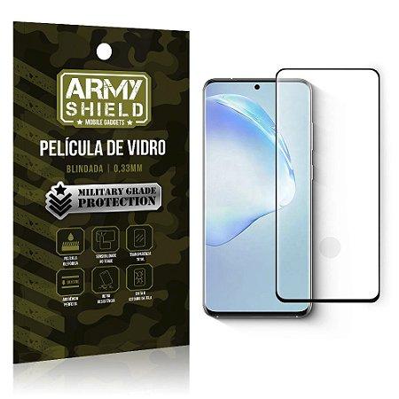 Película de Vidro 3D Cobre Tela Toda Blindada Galaxy S20 Plus - Armyshield