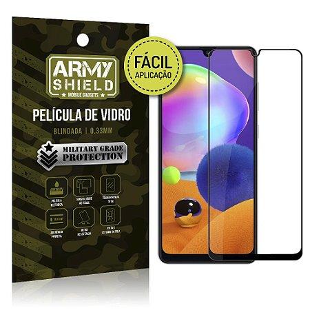 Película de Vidro 3D de Fácil Aplicação Galaxy A31 - Armyshield