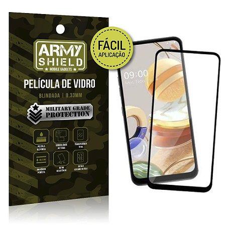 Película de Vidro 3D de Fácil Aplicação LG K51s - Armyshield