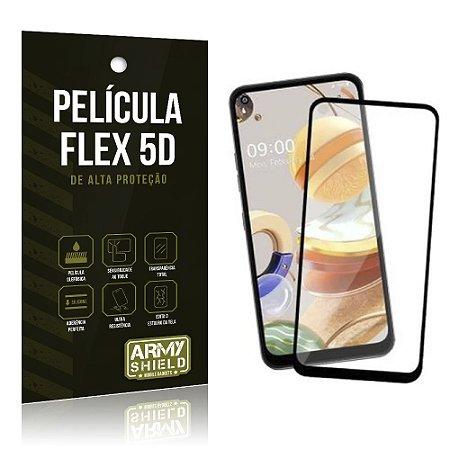 Película Flex 5D Cobre a Tela Toda Blindada LG K51s - Armyshield