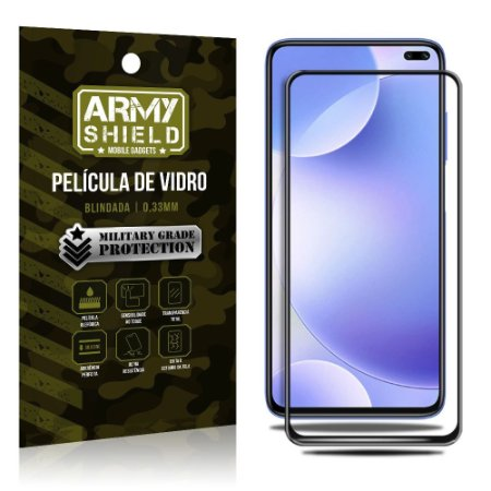 Película de Vidro 3D Cobre a tela toda Redmi K30 - Armyshield