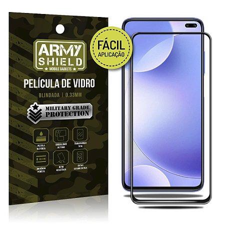 Película de Vidro 3D de Fácil Aplicação Redmi K30 - Armyshield
