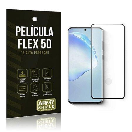 Película Flex 5D Cobre a Tela Toda Blindada Galaxy S20 - Armyshield