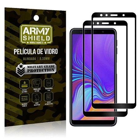Kit 2 Películas de Vidro Blindada 3D Full Cover Galaxy A9 (2018) - Armyshield