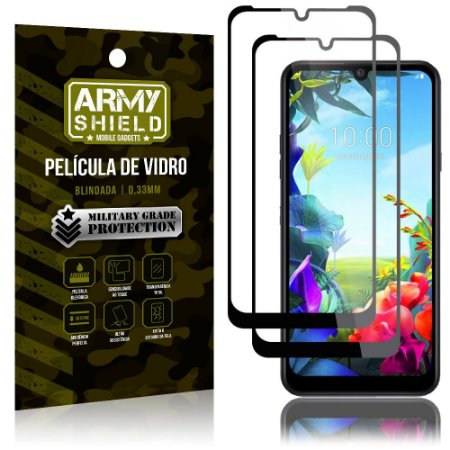 Kit 2 Películas de Vidro Blindada 3D Full Cover LG K40s - Armyshield