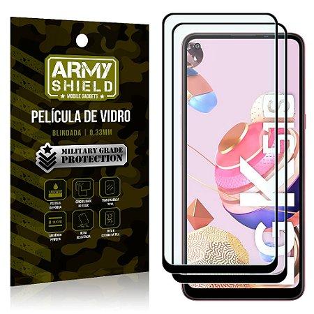 Kit 2 Películas de Vidro Blindada 3D Full Cover LG K51s - Armyshield